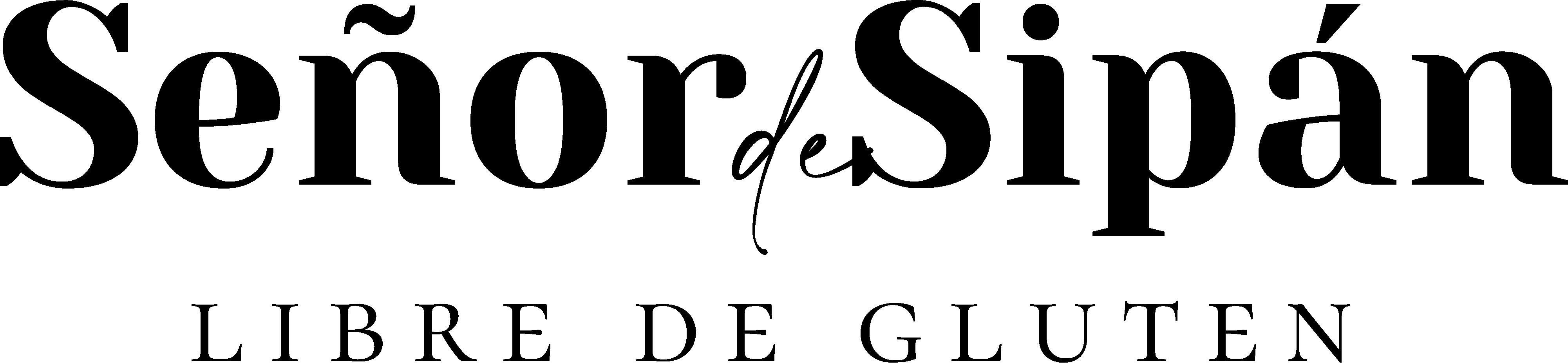 Logo negro Señor de Sipán