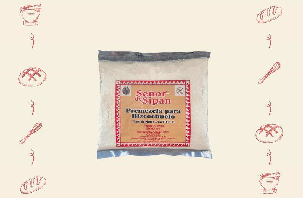 Señor de Sipán Alimentos para Celíacos - Producto Premezcla Bizcochuelo