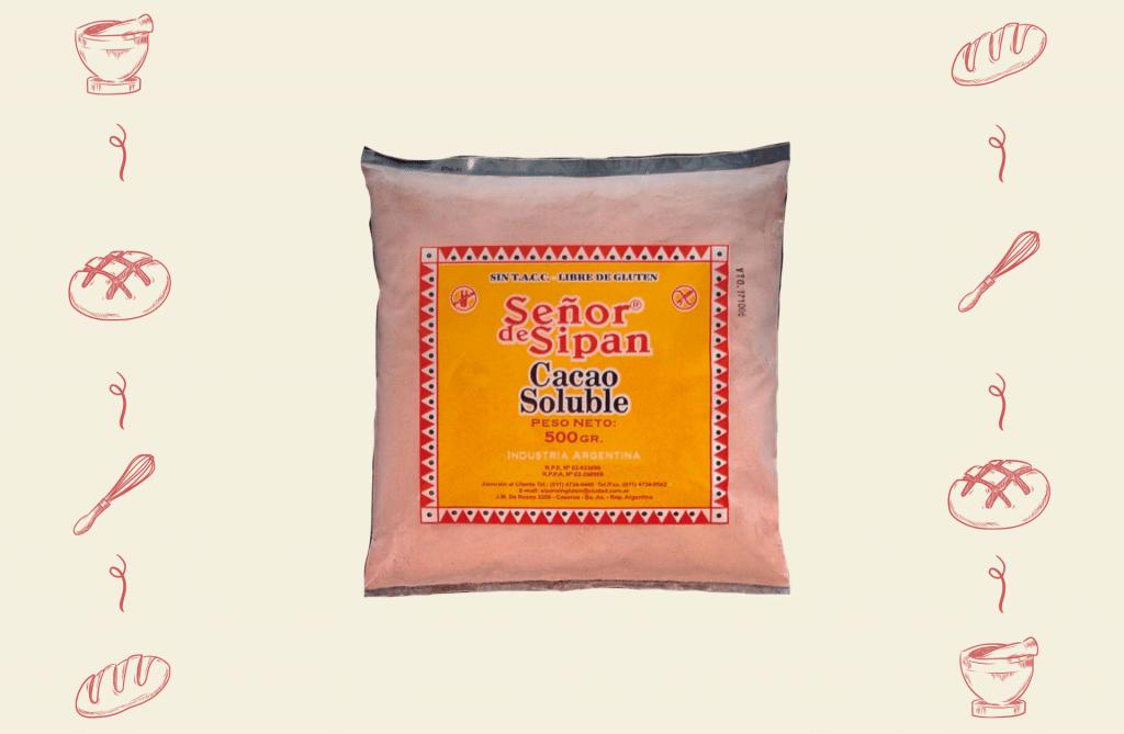 Señor de Sipán Alimentos para Celíacos - Producto Cacao Soluble