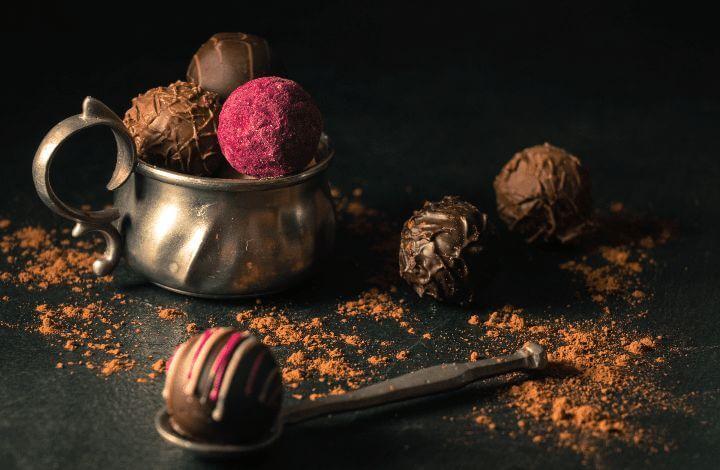 Trufas de cacao recetas Señor de Sipán Alimentos para celíacos